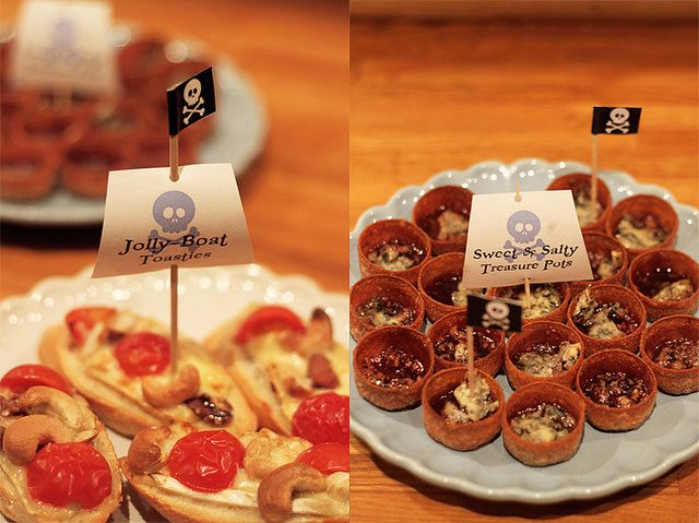 pirate party food by sockerrus, via Flickr
