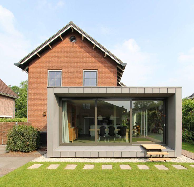 Renovatie en uitbreiding Jaren 50 woning : Moderne huizen van Newjoy concepts