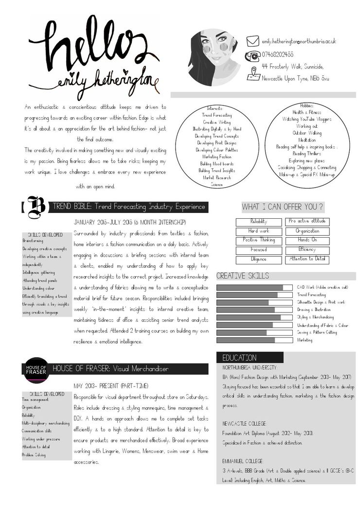 1000  images about creative cv examples on pinterest