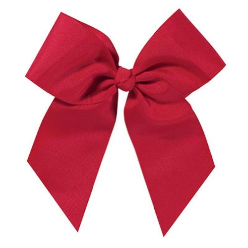 Large Short Tail Solid Cheap Cheer Bow