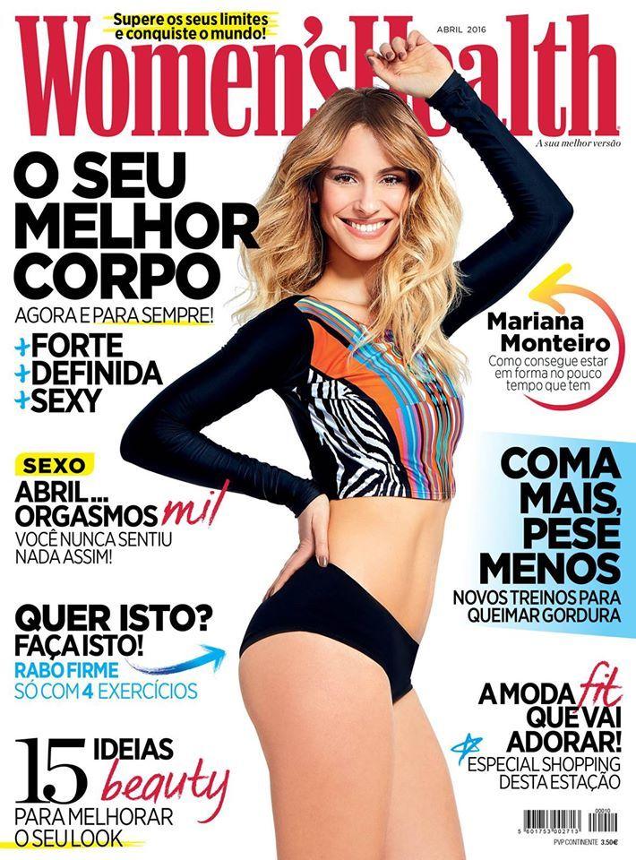 Beauty Mags: Mariana Monteiro | Women's Health Portugal Abril 2016