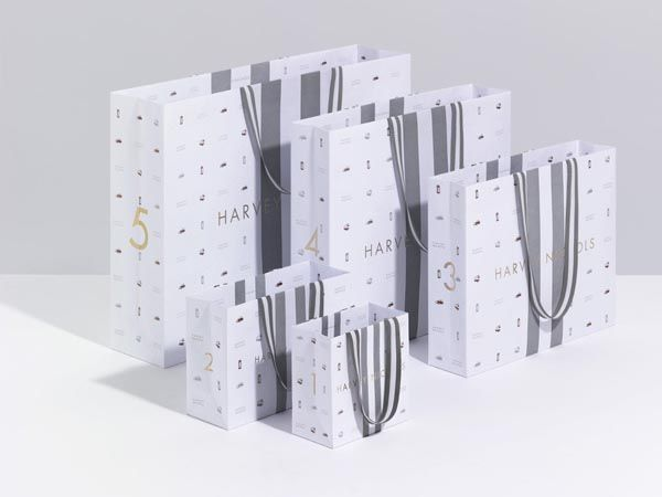 Harvey Nichols Bags - Design by Construct