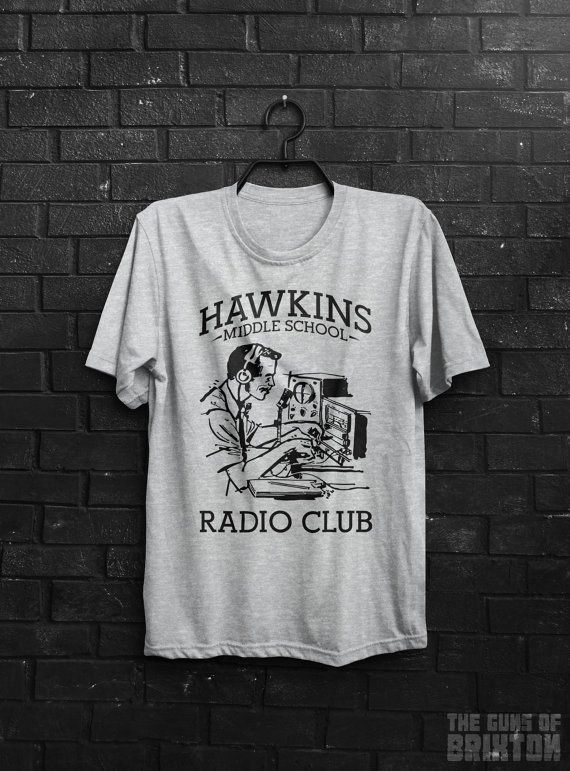 Hawkins Middle School Radio Av Club Stranger Things Inspired Tv Show