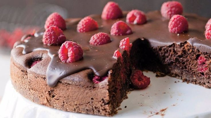 Torta s mascarpone a s malinami   Recepty.sk