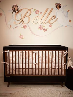 A Sneak Peek Inside our latest Celebrity Nursery for J.R. Martinez.  Photo via People.com: Photo
