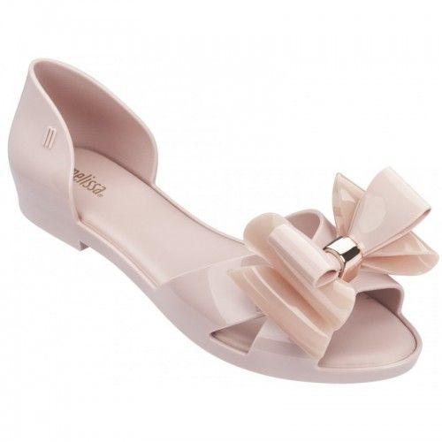 Melissa Seduction II Cameo sandalia sapatilha rosa  31920