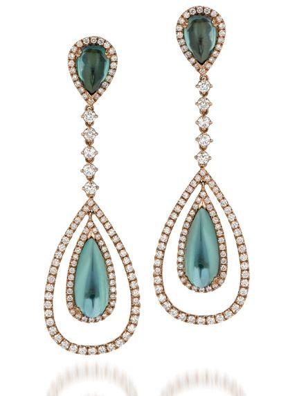 Le Vian Couture's tourmaline and diamond earrings