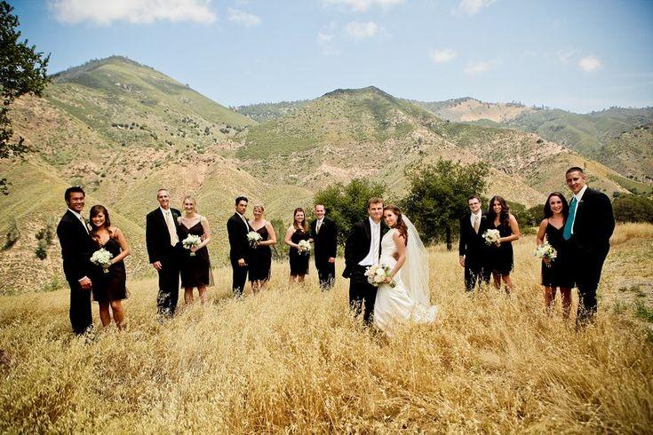 Outdoor Western Themed Wedding Rustic Wedding