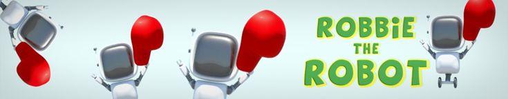 Autism games.  Loving Robbie the Robot :-)