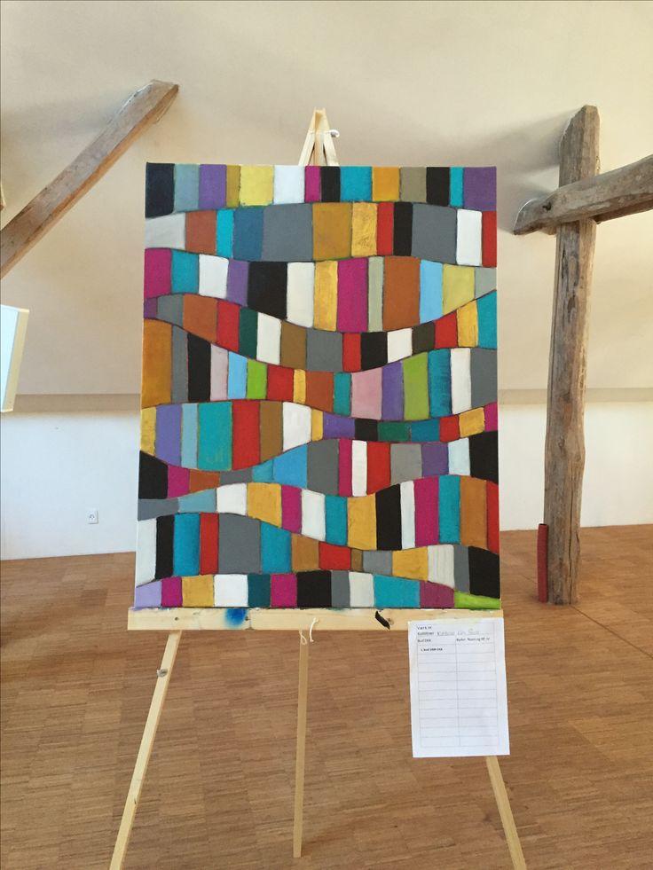 Maleriet blev malet på Art Week Kerteminde 2016