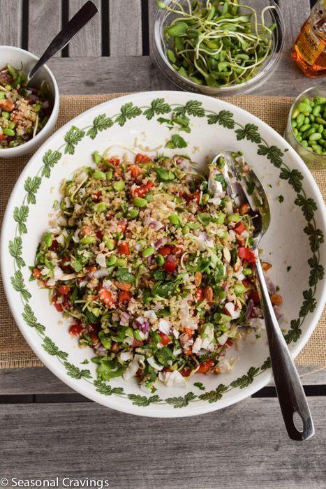 California Quinoa Salad (Whole Foods Copycat) - Sign up for easy, healthy recipes at http://eepurl.com/bgGhFT