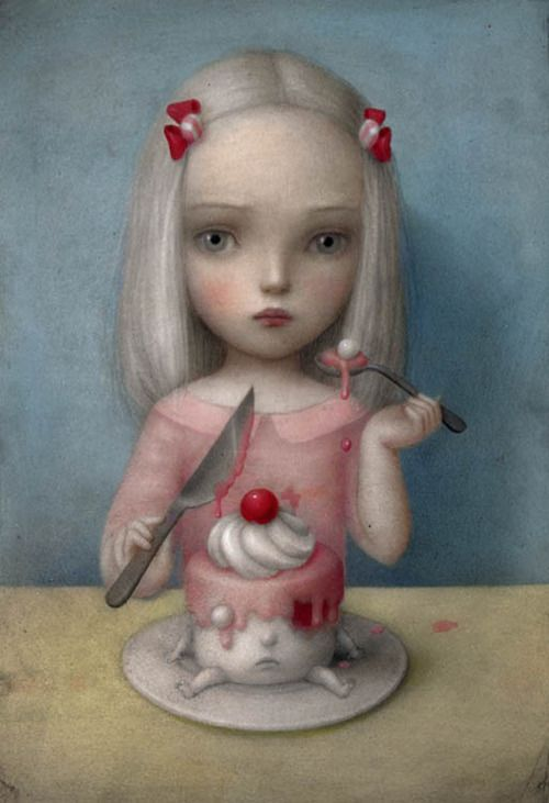 campsis:    Nicoletta Ceccoli - Eye Candy