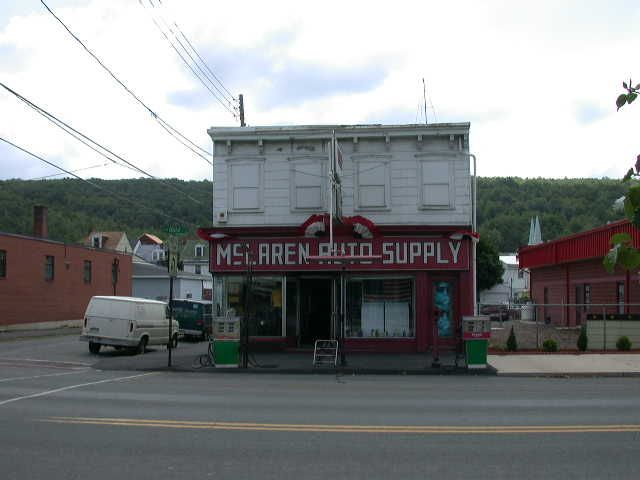 Mahanoy City, PA: McLaren Auto Supply, Center Street