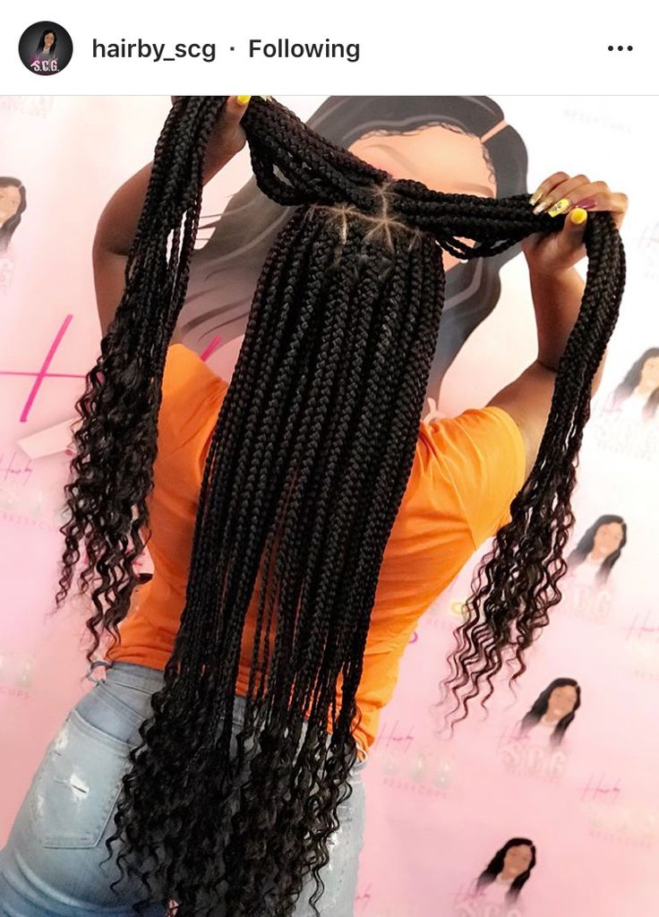 Pinterest Jalissalyons Single Plaits In 2019 Hair