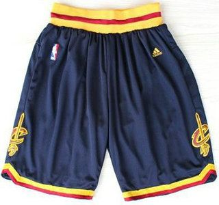 NBA Cleveland Cavaliers Short Blue Revolution 30 Swingman NBA Shorts