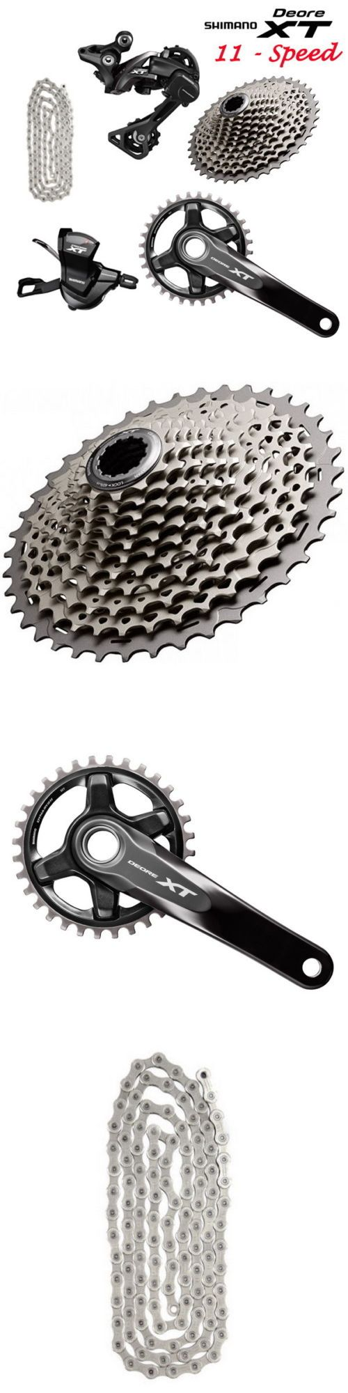 Build Kits and Gruppos 109120: 2016 Shimano Deore Xt M8000 11-Speed Groupset Drivetrain Group Set 175 170Mm -> BUY IT NOW ONLY: $367.99 on eBay!