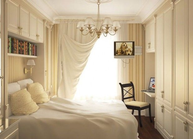 Great Small Bedroom Design Ideas love the window curtain