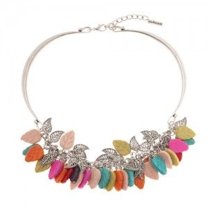 Lolly Leaves Necklace - Ready to Go $NZ25