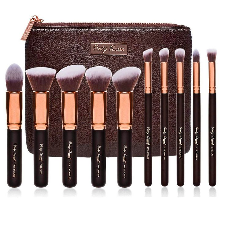 Party Queen Premium Makeup Brush Set $40 (Reg. $118) | Get FREE Samples by Mail | Free Stuff