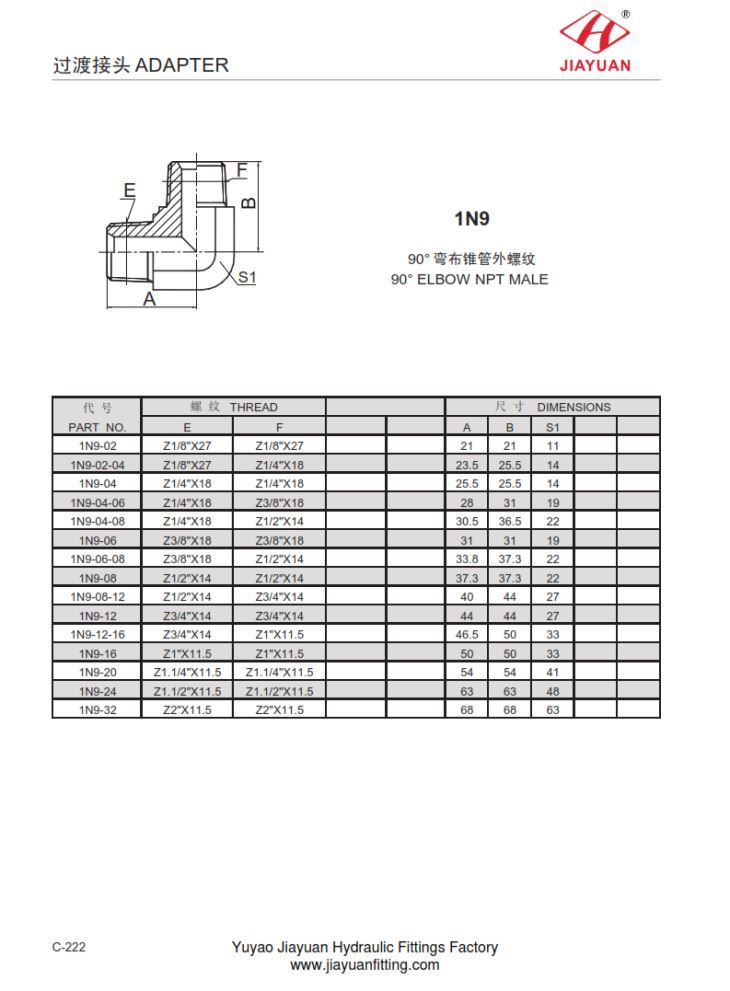 China custom elbow npt male fittings manufacturers
