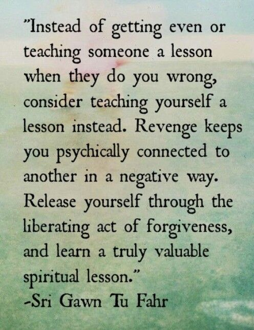 Release yourself...