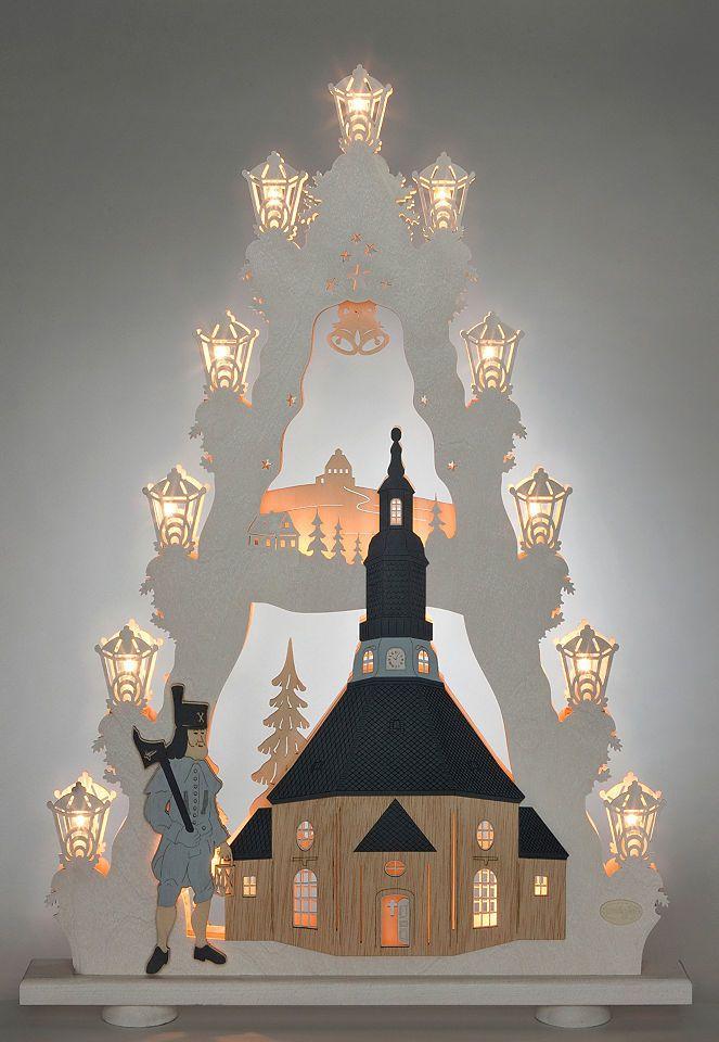Weigla® Lichterspitze, »Seiffener Kirche« Jetzt bestellen unter: https://moebel.ladendirekt.de/weihnachten/weihnachtsdeko/?uid=f842d776-99a2-50e4-b03d-daf0249dda79&utm_source=pinterest&utm_medium=pin&utm_campaign=boards #weihnachten #weihnachtsdeko #dekoratives