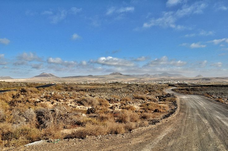 Caminos que parecen recorrer Marte.