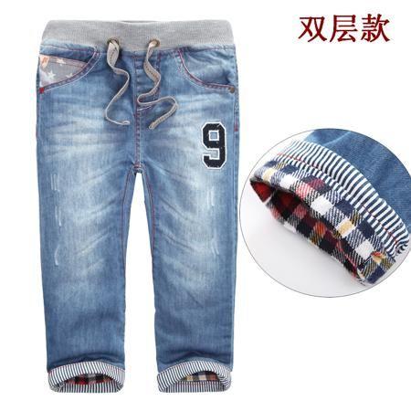 Осенние детей мультфильм ребенок мальчиков одежду мальчиков осенью 2015 джинсы штаны брюки Корейский мальчик  — 1060.72р.