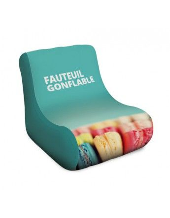 Fauteuil Gonflable - personnalisable http://impression.lnproductions.be/stands-gonflables/fauteuil-gonflable.html