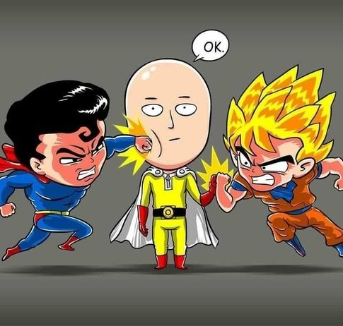 Is One Punch Man's 'Saitama' an homage or a parody of super-strong heroes such as Superman or Son Goku? - Quora