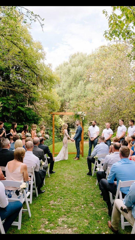 Garden wedding chateau dore