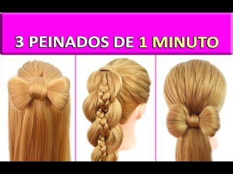 peinados faciles y rapidos y bonitos con trenzas lazo para fiestas youtube