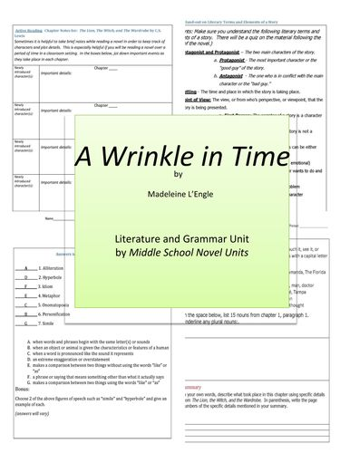 a wrinkle in time short essay Sarah wilson, a reader and mom in nashville, tn recently told us of her experience reading a wrinkle in time with her parent-child book club she's generously allowed us to share her this guide for others who might want to do the same.
