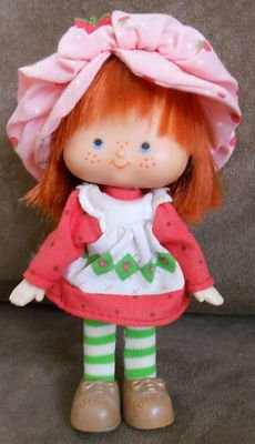 Worried that I would smell like strawberry shortcake!   More to the point my husband would smell like her!!!