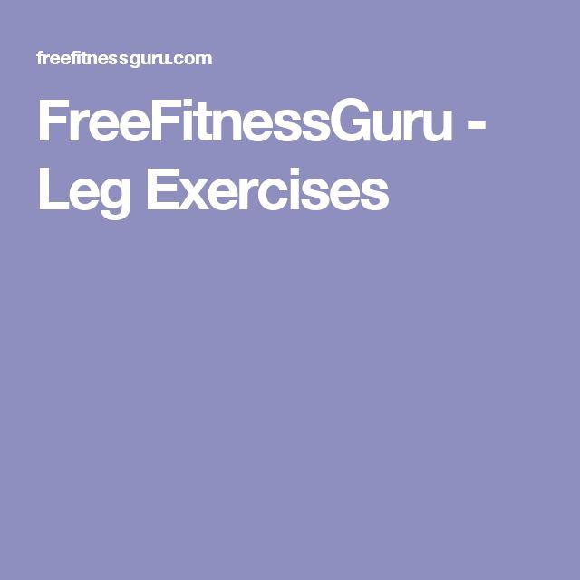 FreeFitnessGuru - Leg Exercises