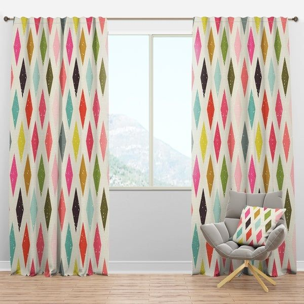 Overstock Com Online Shopping Bedding Furniture Electronics Jewelry Clothing More In 2021 Mid Century Modern Curtains Modern Curtains Rod Pocket Curtain Panels