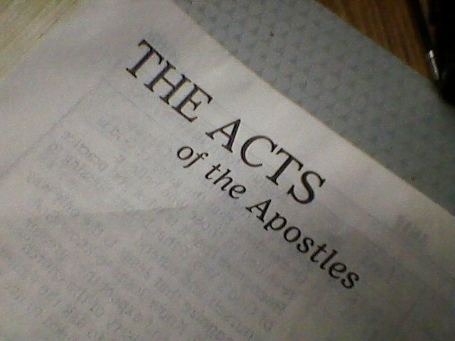 Bible Trivia Quiz: The Book of Acts Chapters 1 - 7