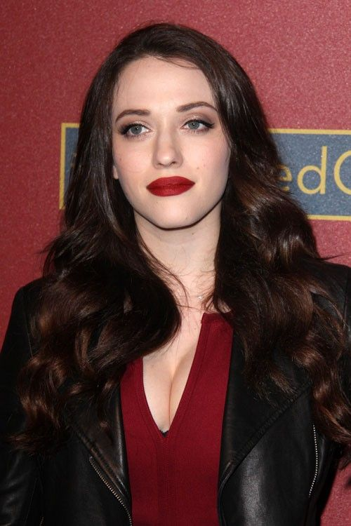 LOS ANGELES - MAR 1:  Kat Dennings at the QVC 5th Annual Red Car