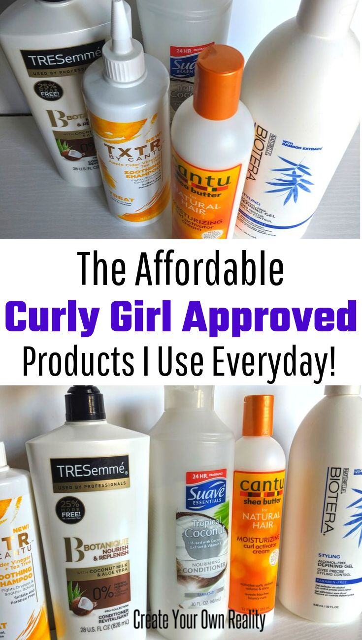 Meine Budget Curly Girl Approved Produkte  – Curly Hair