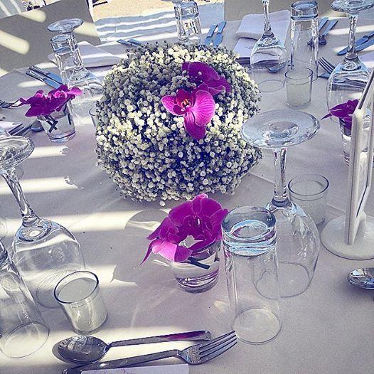Lovely setting.| #wedding #patmos #patmosaktis
