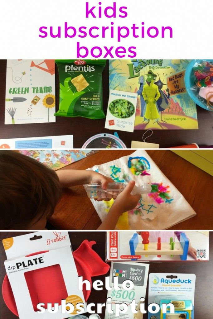 Subscription Boxes for Kids! Find monthly boxes like Kiwi Crate, Citrus Lane, Nerd Block. Monthly crafts, activities, learning, toys, games, and more! http://boxes.hellosubscription.com/subscription-boxes-for-kids/ #subscriptionbox #subscriptionboxes