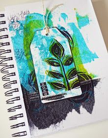 Postcards from the Attic: Two Minute Journal Page Background