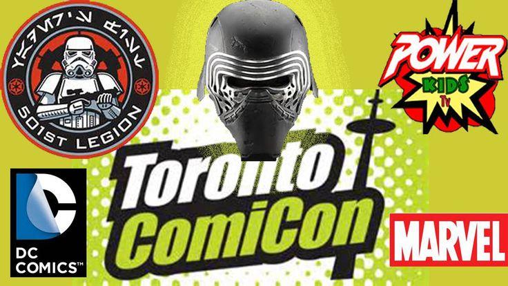 ComiCon Toronto 2016 - Power Kids TV
