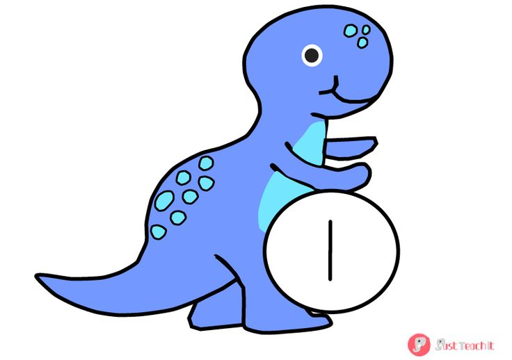 0-10 Dinosaur Number Cards - Ideal for number and ordering activities.