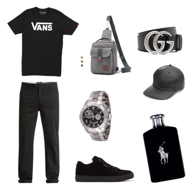 """""""Hipster🤙🏽"""" by alice12 on Polyvore featuring Quiksilver, Vans, Brioni, Zenith, Gucci, rag & bone, Ralph Lauren, men's fashion and menswear"""