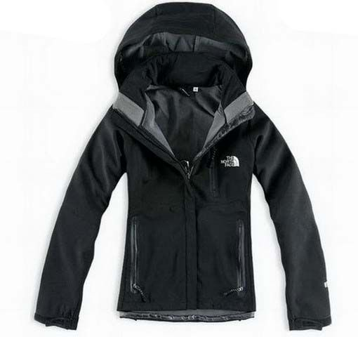 New Style North Face Windstopper Jacket Clearance Women Black