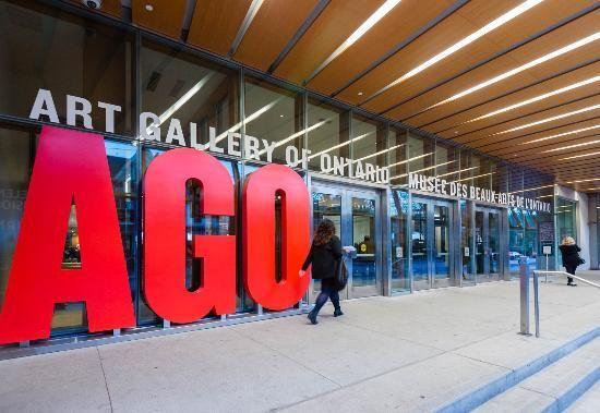 AGO entrance, Toronto