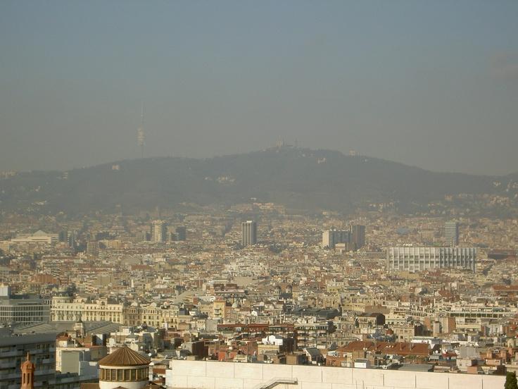 Barcelona . Taken from Joan Miro's Museum!