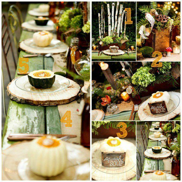 Are you drooling over this rustic fall tablescape? Find five DIY tutorials to…