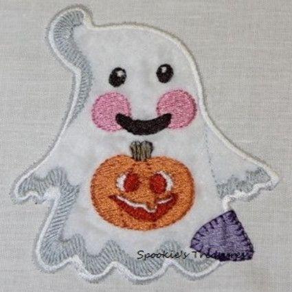 STE010_05  http://www.spookiestreasures.com/products/applique-little-ghost-4x4-4